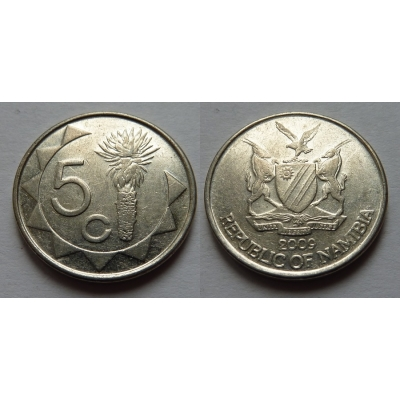 Namibie - 5 cents 2009