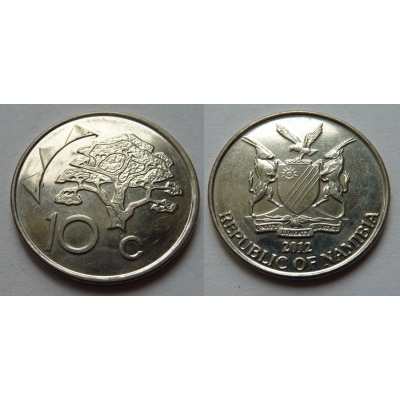 Namibie - 10 cents 2012