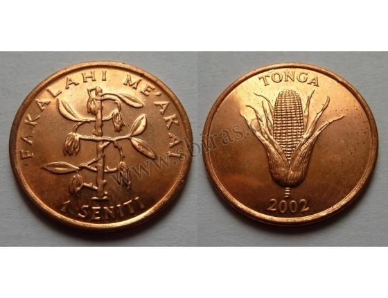 Tonga - 1 seniti 2002