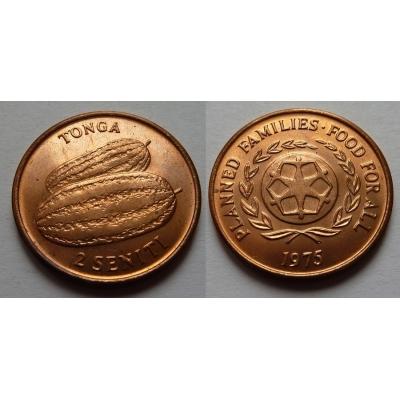 Tonga - 2 seniti 1975