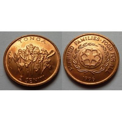 Tonga - 2 seniti 1996