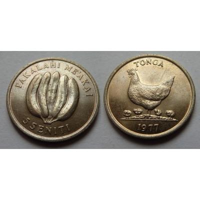 Tonga - 5 seniti 1977