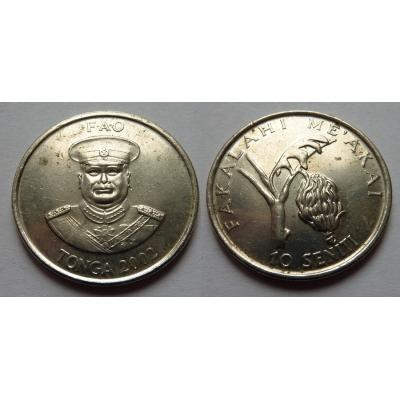 Tonga - 10 seniti 2002