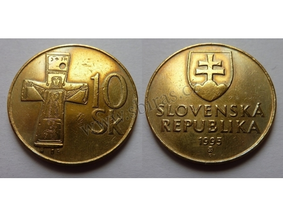 Slovensko - 10 korun 1995