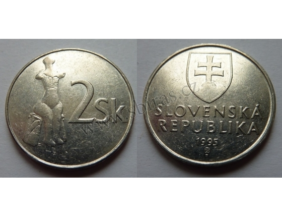 Slovensko - 2 korun 1995