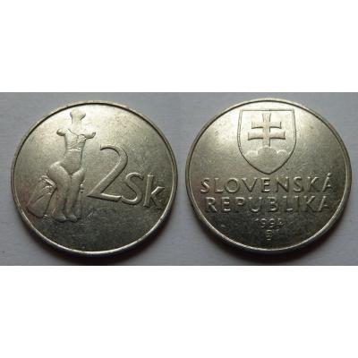 Slovensko - 2 koruny 1994