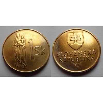Slovensko - 1 koruna 1995
