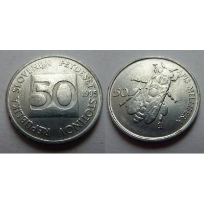 Slovinsko - 50 stotinov 1995