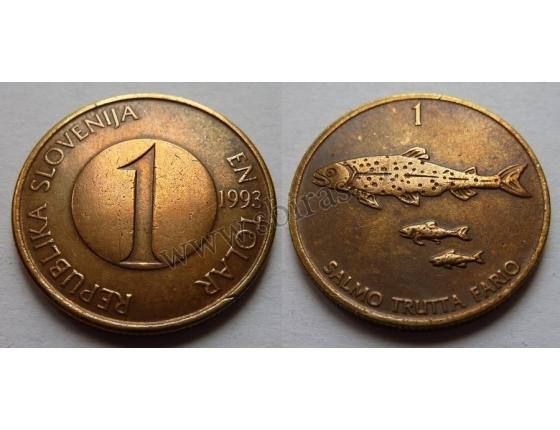 Slovinsko - 1 tolar 1993