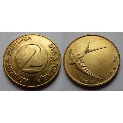 Slovinsko - 2 tolarja 1999