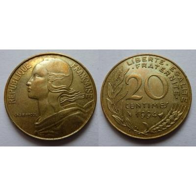 Francie - 20 centimes 1994