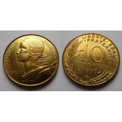Francie - 10 centimes 1996