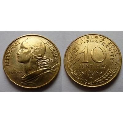 Francie - 10 centimes 1994