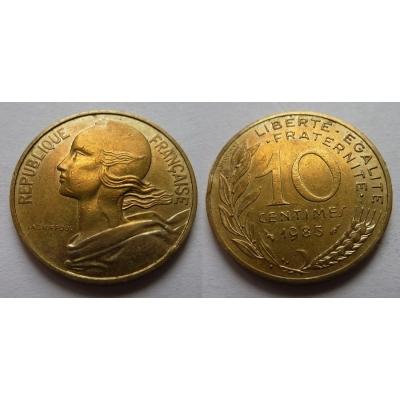 Francie - 10 centimes 1983