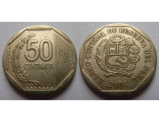 Peru - 50 centimos 2004