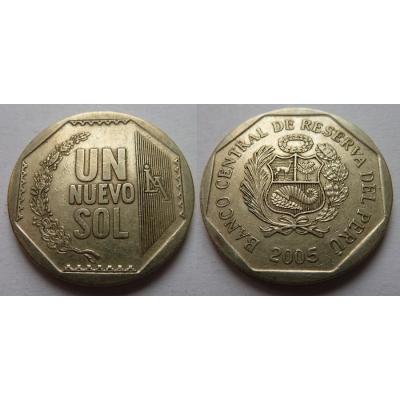 Peru - 1 sol 2005