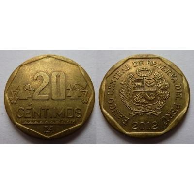 Peru - 20 centimos 2012