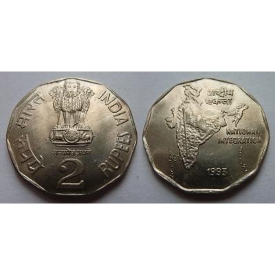Indie - 2 rupees 1993