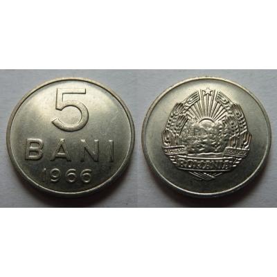 Rumunsko - 5 bani 1966