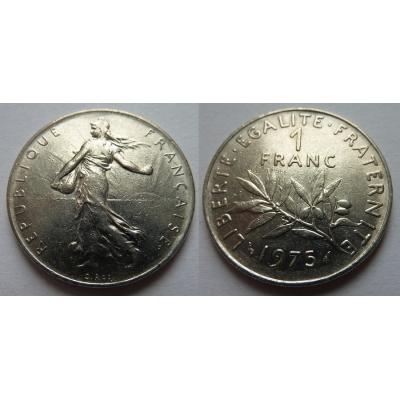 Francie - 1 franc 1975