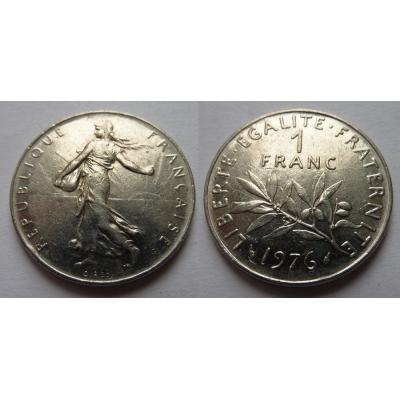 Francie - 1 franc 1976