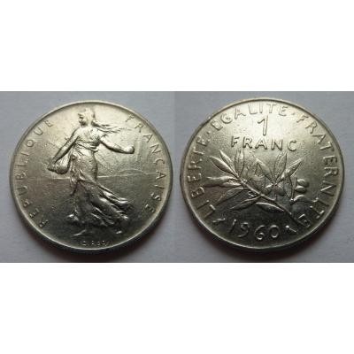 Francie - 1 franc 1960