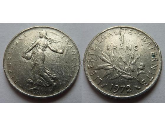 Francie - 1 franc 1972