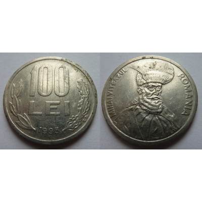 Rumunsko - 100 lei 1993