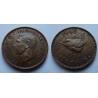 Velká Británie - Farthing 1/4 Penny 1948
