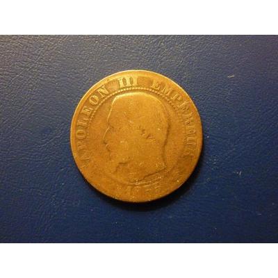 5 centimů 1855