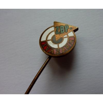 Svazarm - střelecký klub, odznak smalt