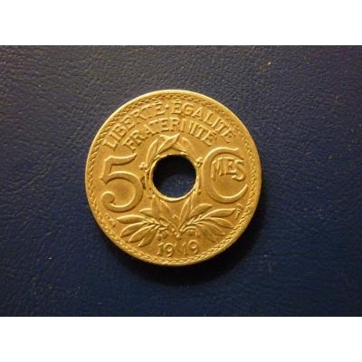 5 centimů 1919