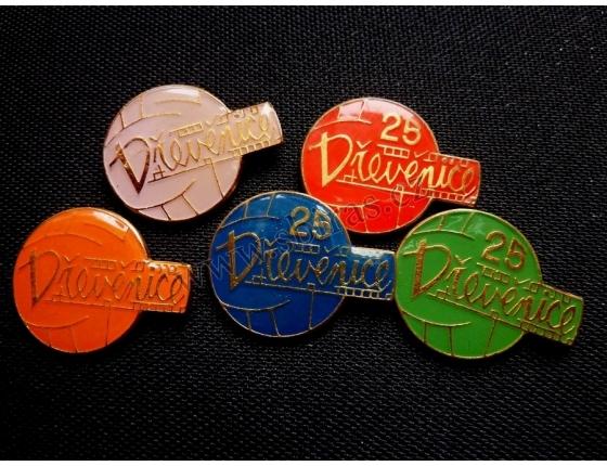 Dřevěnice - volejbal, sada odznaků