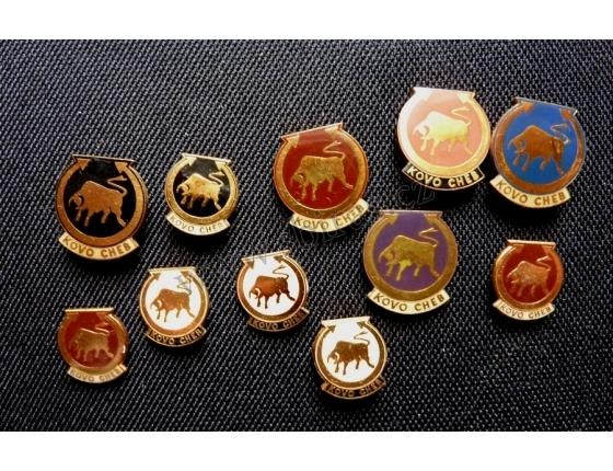 Kovo Cheb - sada odznaků