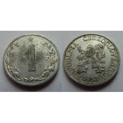 1 haléř 1953