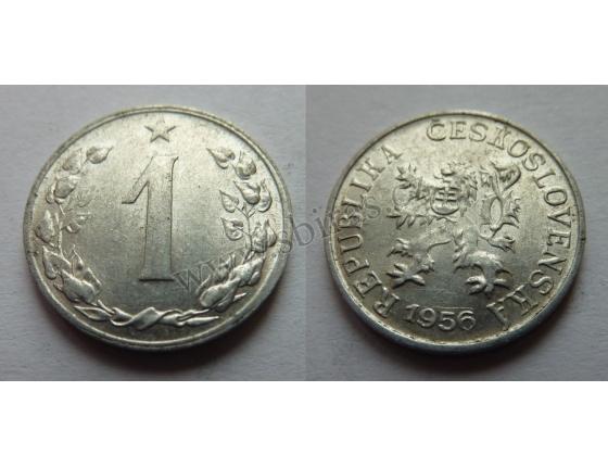 1 haléř 1956