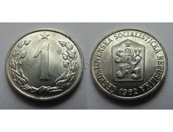 1 haléř 1962