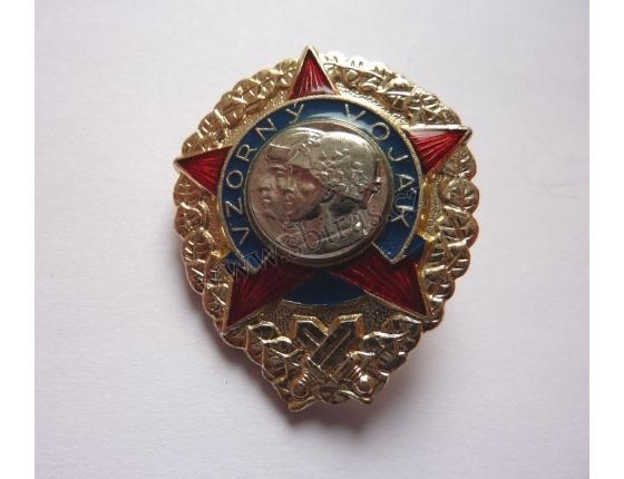 Tschechoslowakei - Exemplarischen Soldat Abzeichen