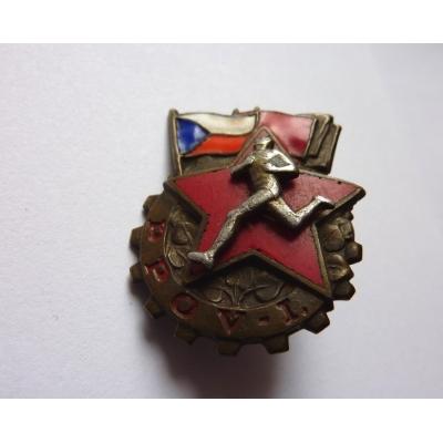 Armádní odznak zdatnosti 1. třídy šoubovací